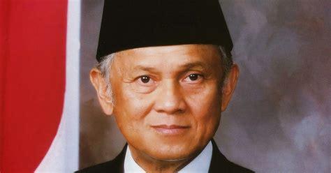 biografi habibie presiden indonesia profil dan biografi bj habibie presiden ke 3 ri