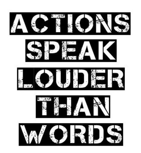 Actions Speak Louder Than Words Essay by Speak Louder Than Words Essay For Students
