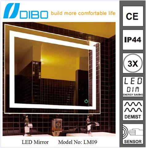 backlit bathroom wall mirrors backlit bathroom wall clock mirror buy wall clock mirror