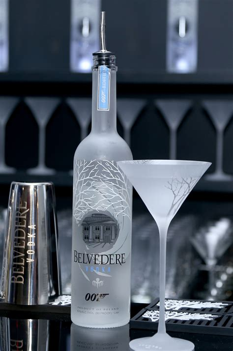 martini belvedere belvedere vodka celebrates partnership with spectre at one