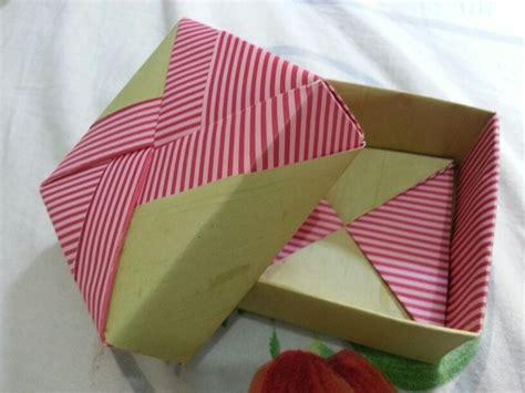 Paper Box Paper Bag Box Kotak Box Kado Box Souvenir Box Kue Kering Kotak Kado Origami Gift Box Buatan Tangan Handmade Diy Packaging Origami