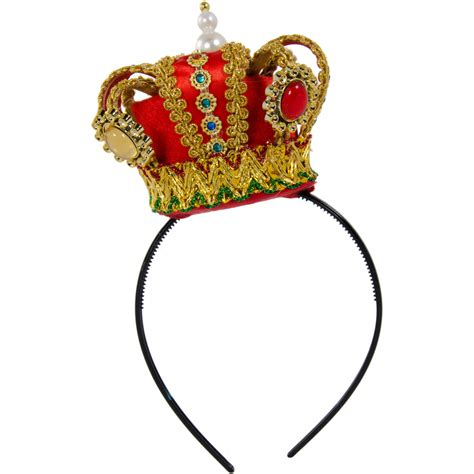 Crown Headband mini regal crown headband 26661rdaj