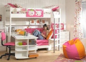 camas ni as funcionales dise 241 os de camas para ni 241 as con escritorio