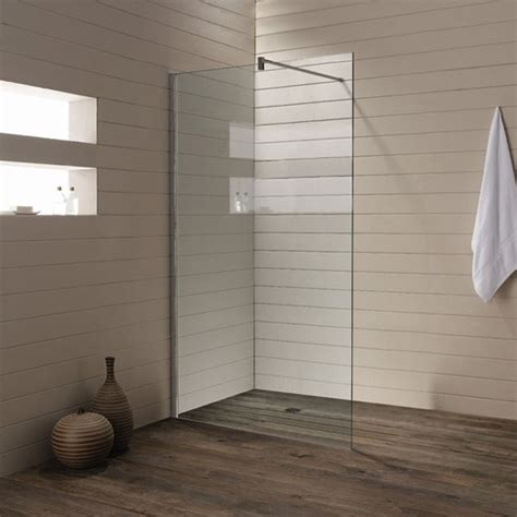 Seamless Shower Floor Bathrooms Pinterest Glass Shower Wall Panels For Bathrooms