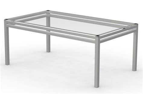 Glass And Metal Dining Tables Gala Glass Metal And Glass Dining Table Voigt Home Collection