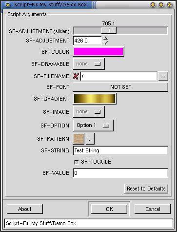 gimp tutorial script fu script fu tutorial