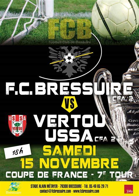 Calendrier 7eme Tour Coupe De Football Club De Bressuire 187 Parcours Cdf Coupe De