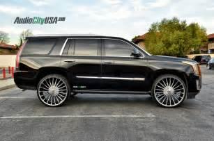 Cadillac Escalade On 28 Inch Rims 2015 Cadillac Escalade On 28 Quot Velocity Vw 11 Chrome Wheels