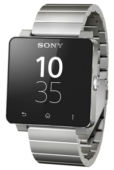 Sony Smartwatch 2 Sw2 Steel Silver sony smartwatch 2 metal band silver color has a 1 6 inch