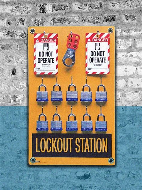 Masterlock Safety Loto S1800 Lockout Stations 17 best images about lockout tagout tags products on