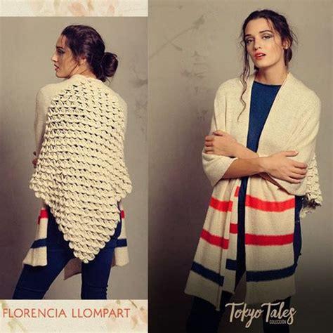 invierno 2016 moda en sweaters sacos y ponchos tejidos invierno 2016 florencia llompart tejidos invierno 2016 sweaters