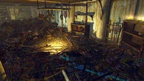 houses for sale skyrim skyrim player fills virtual house with trophies of slain enemies the mary sue