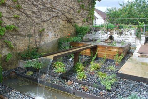 Exceptionnel Fontaine A Eau Decoration #4: terrasse-amenagee-billes.jpg