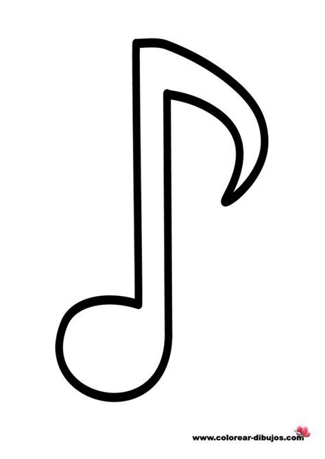 imagenes de notas musicales best 20 notas musicales para colorear ideas on pinterest