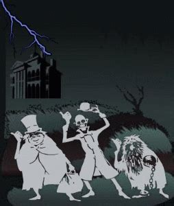 hitchhiking ghosts gif haunted mansion disney