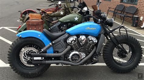indian gave a scout to their dealers to customise the result is interesting motofire