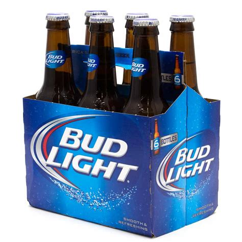 how much does a 12 pack of bud light cost how much does a six pack of bud light cost