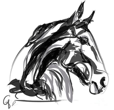 black and white paintings apple digi black and white painting by go ken