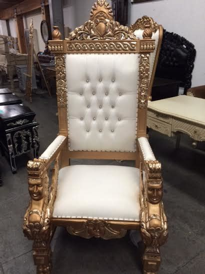 large throne chair large gold throne king chair and groom chair for