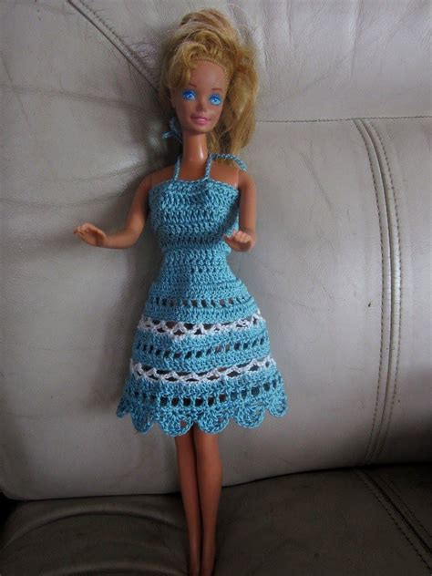 pattern clothes doll free crochet barbie dresses barbie doll clothes patterns