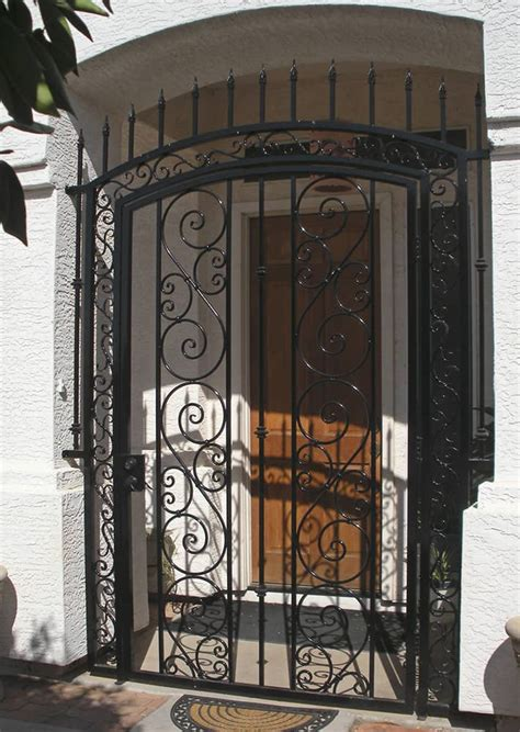 decorative wrought iron gate exles sun king fencing
