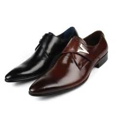 Italian designer formal men dress shoes genuine leather flat shoes for