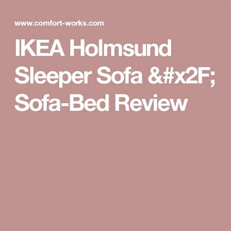 Holmsund Sofa Bed Review 17 Best Ideas About Ikea Sofa Bed On Sofa Beds Sleeper And Ikea Daybed