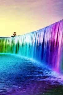 colorful waterfalls colorful waterfall for android appszoom