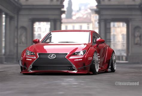 lexus lfa liberty walk rocket bunny lexus rc readying for 2014 sema autoevolution