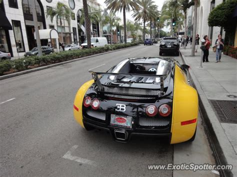bugatti veyron spotted in los angeles united states on 10
