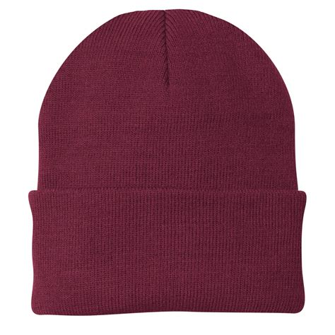 Cp A Maroon port company cp90 knit cap maroon fullsource