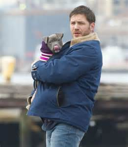 As you can see from the photos hardy carried the pup around gave