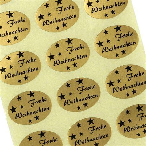 Etiketten Aufkleber Weihnachten by Etiketten Aufkleber Frohe Weihnachten Weihnacht Gold