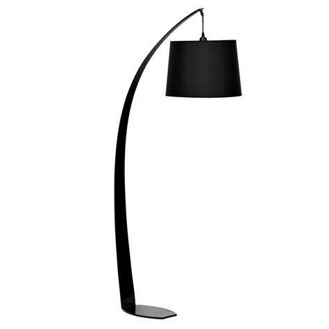 Black Fez Floor Lamp