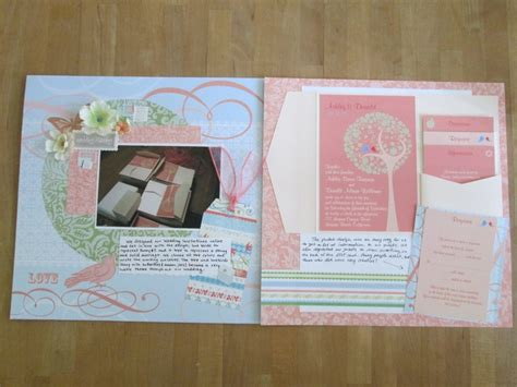 Scrapbooking Wedding Invitation Ideas by 17 Best Images About My Random Crafting Swaps On
