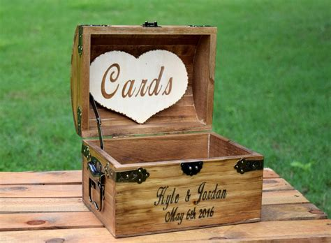 Lids E Gift Card - rustic wooden card box rustic wedding card box country barn babe
