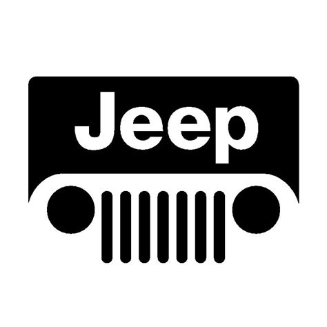 jeep logo jeep 93 logo simple car logos pinterest jeeps jeep