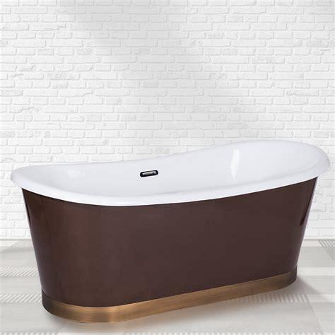 baignoire ilot 182 baignoire 238 lot retro cuivr 233 e 182 x 80 cm acrylique garda
