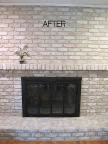 brick paint colors tutorial how to paint a brick fireplace
