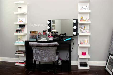 makeup mirror with lights and desk makeup vanity set with lighted mirror home design ideas