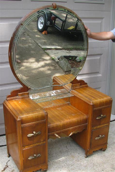 antique vanity dresser round mirror antique vanity dresser with round mirror bestdressers 2017
