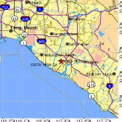 where is costa mesa california on the map costa mesa california ca population data races