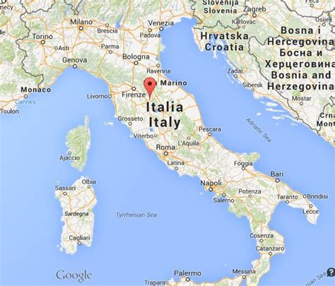 on map where is arezzo on map of italy world easy guides