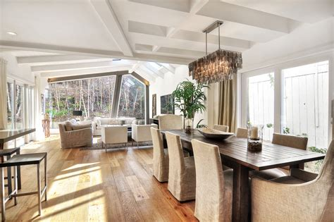 Rectangular Chandelier Dining Room 24 Rectangular Chandelier Designs Decorating Ideas Design Trends