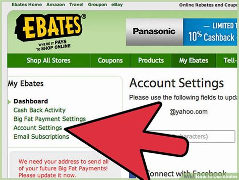 Ebates Gift Card Instead Of Check - 3 ways to use ebates wikihow