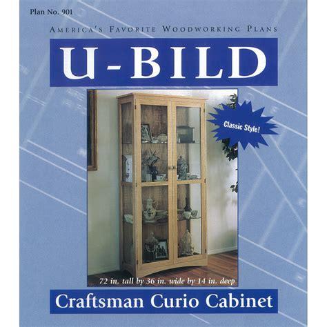 curio cabinet woodworking plans shop u bild craftsman curio cabinet woodworking plan at
