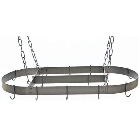 Rogar Pot Rack rogar gourmet pot racks and oval pot racks at kitchensource