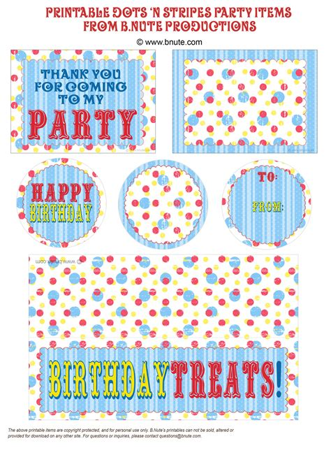 printable party labels granny enchanted s blog friday s guest freebies b nute