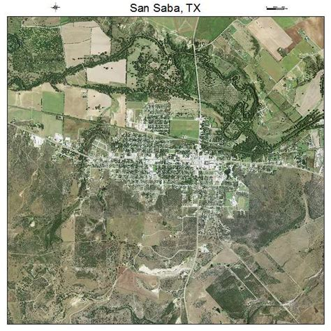 san saba texas map aerial photography map of san saba tx texas