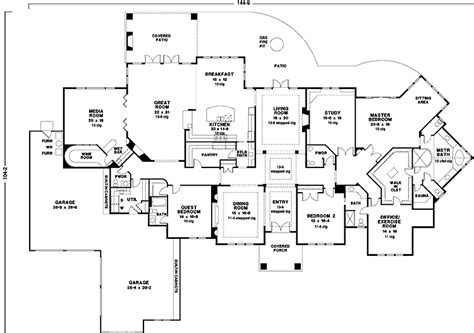 extravagant house plans floor plans aflfpw22445 1 story prairie style house plans home with 3 bedrooms 3